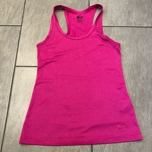 Nike Dri Fit Tank Top Hot Pink